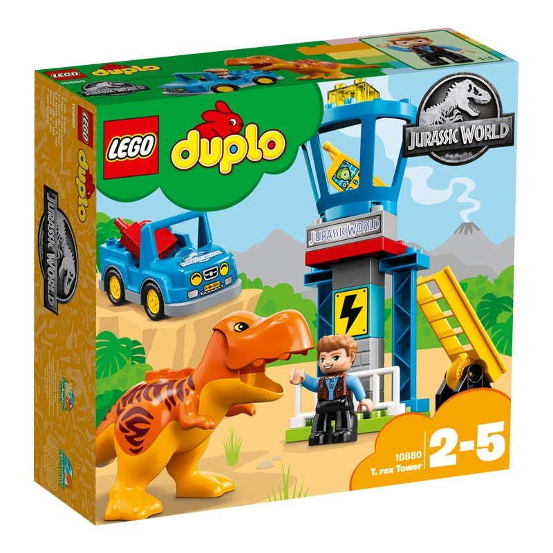 LEGO DUPLO Jurassic World:Fallen Kingdom T. rex Tower 10880