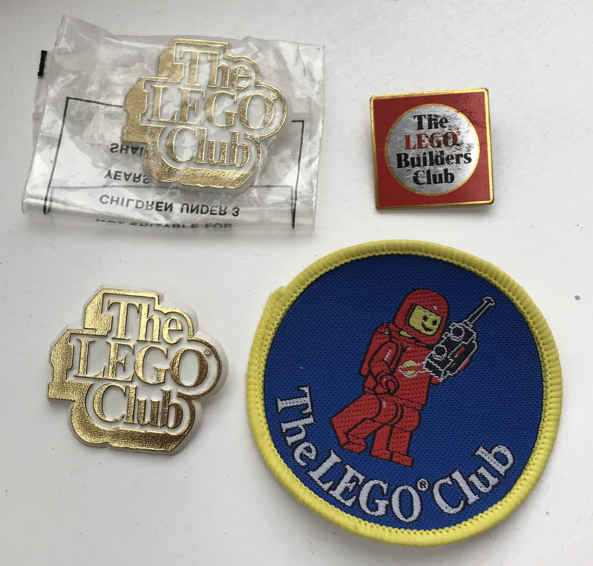 LEGO Club Badge Collection are a Blast from my Building Past