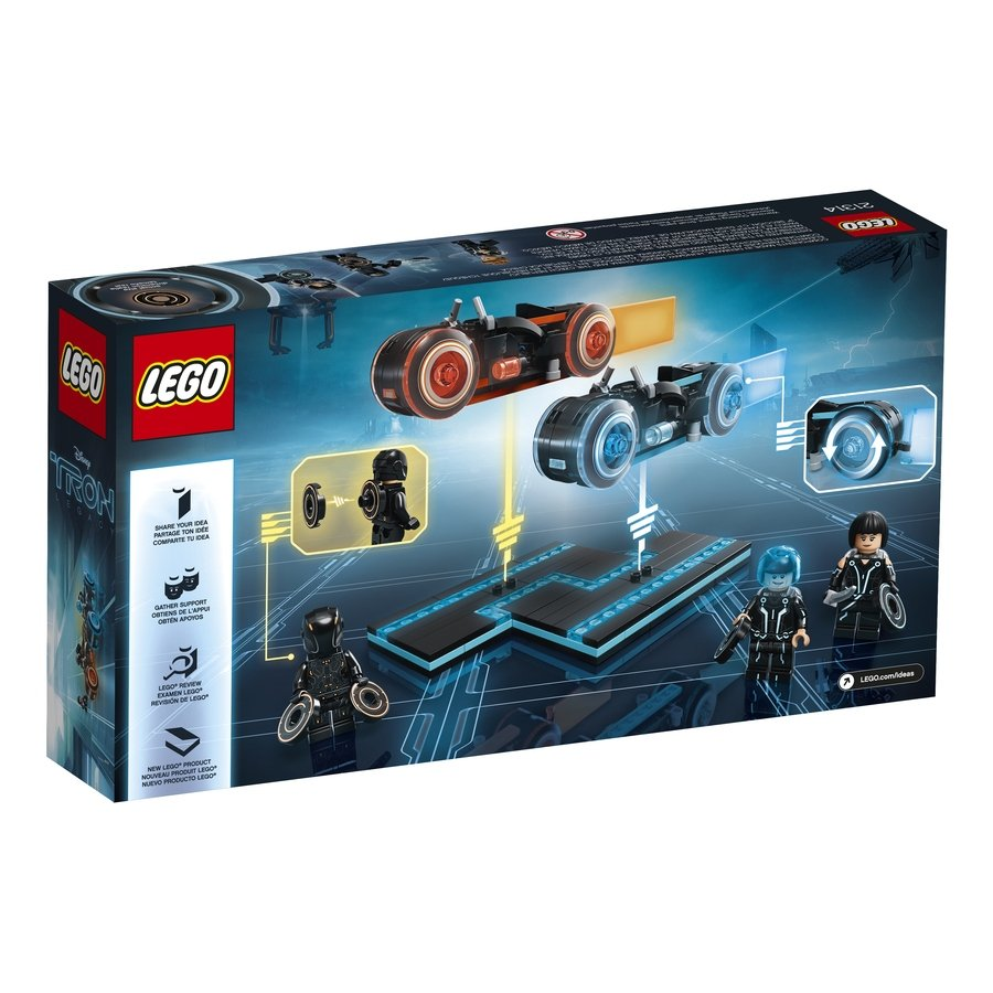 LEGO Ideas TRON: Legacy 21314 Box Back
