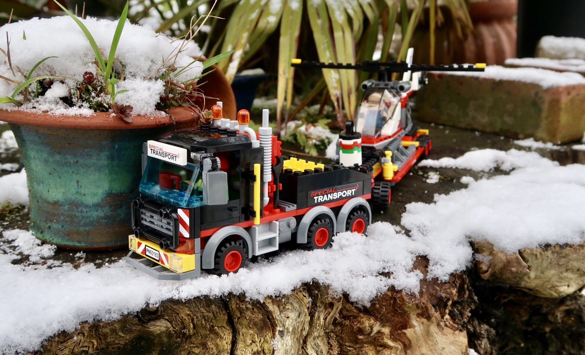 LEGO City Heavy Cargo Transport 60183 Review