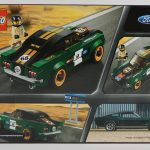 LEGO 1968 Ford Mustang Fastback 75884 Box Back