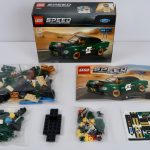 LEGO 1968 Ford Mustang Fastback 75884 Box Contents