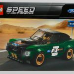 LEGO 1968 Ford Mustang Fastback 75884 Box Front