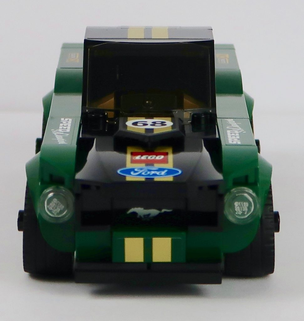 LEGO 1968 Ford Mustang Fastback 75884 Front