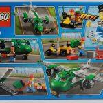 LEGO Airport Cargo Plane 60101 Box Rear
