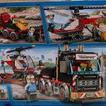 LEGO City Heavy Cargo Transport 60183 Box Back