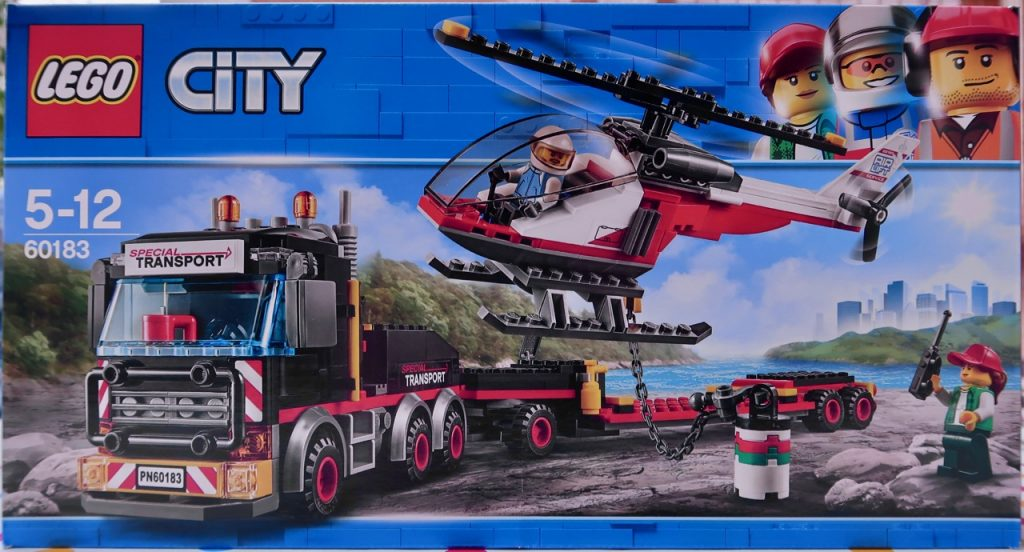 LEGO City Heavy Cargo Transport 60183 Box Front