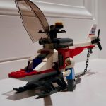 LEGO City Heavy Cargo Transport 60183 Helicopter and Pilot