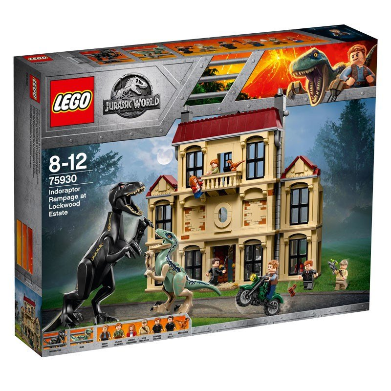 LEGO Jurassic World:Fallen Kingdom Indoraptor Rampage at Lockwood Estate 75930
