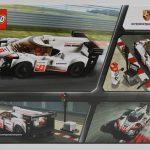 LEGO Speed Champions 2018 Porsche 919 Hybrid 75887 Box Back