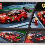 """LEGO Speed Champions Ferrari 488 GT3 """"Scuderia Corsa"""" 75886 Box Back"""