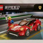 """LEGO Speed Champions Ferrari 488 GT3 """"Scuderia Corsa"""" 75886 Box Front"""