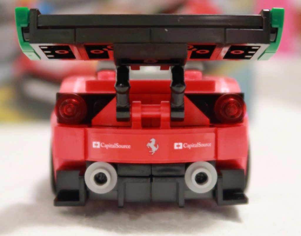 LEGO Speed Champions Ferrari 488 GT375886 Rear Wing and Exhaust