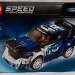 LEGO Speed Champions Ford Fiesta M Sport WRC 75885 Box Front