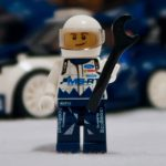 LEGO Speed Champions Ford Fiesta M Sport WRC 75885 Figure with Helmet