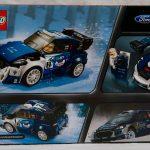 LEGO Speed Champions Ford Fiesta M Sport WRC 75885 Rear Box