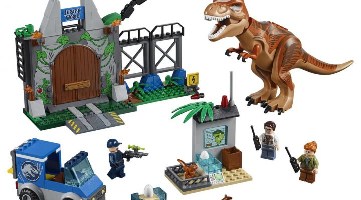 LEGO Jurassic World: Fallen Kingdom T. rex Breakout 10758 ©2018 LEGO Group