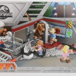 LEGO Jurassic Park Velociraptor Chase Review Box Front set 75932
