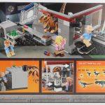 LEGO Jurassic Park Velociraptor Chase Review Box Rear set 75932