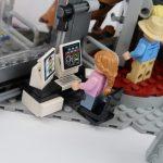 LEGO Jurassic Park Velociraptor Chase Lex standing up set 75932
