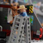 LEGO Jurassic Park Velociraptor Chase Review Alan escaping set 75932