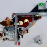 LEGO Jurassic Park Velociraptor Chase Review Top down view set 75932