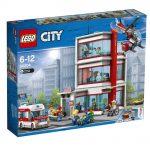 LEGO City Hospital 60204 Box Front via Brothers Brick ©2018 The LEGO Group