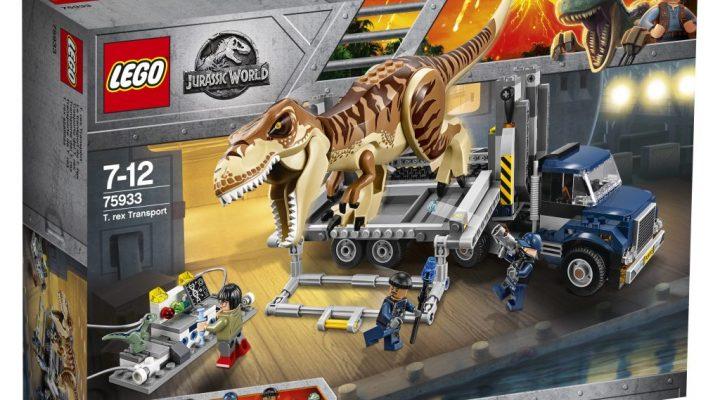 LEGO Jurassic World T.Rex Transport 75933 Box