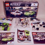 LEGO Speed Champions Porsche 911 RSR and 911 Turbo 3.0 75888 Box Contents