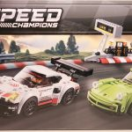 LEGO Speed Champions Porsche 911 RSR and 911 Turbo 3.0 75888 Box Front