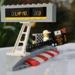 LEGO Speed Champions Porsche 911 RSR and 911 Turbo 3.0 75888 Pit Board