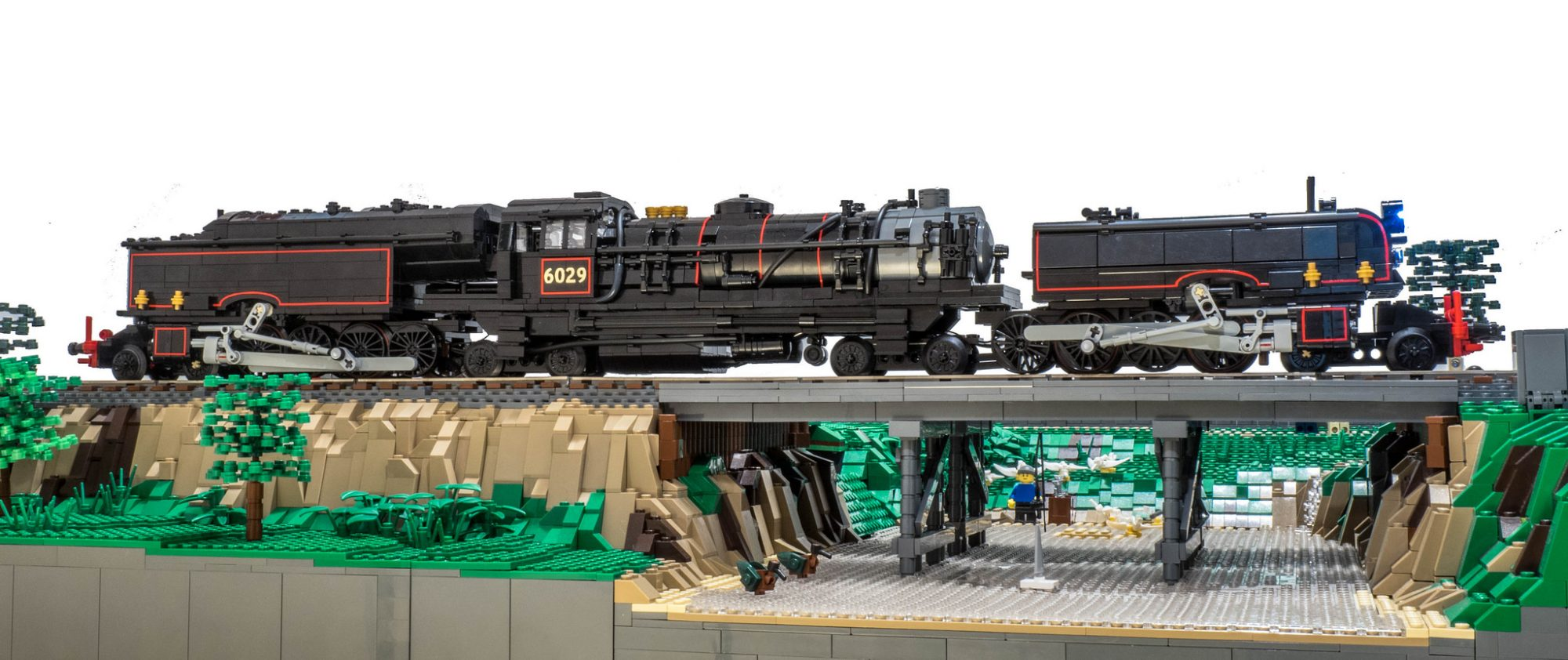 Incredible LEGO Train – NSW AD60 Class by Flickr user Alexander