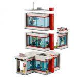 LEGO City Hospital (set 60204) Exploded room view
