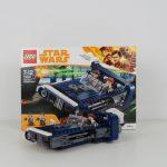 LEGO Star Wars Han Solo Landspeeder Review 75209 Box and Model