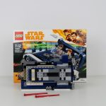 LEGO Star Wars Han Solo Landspeeder Review 75209 Wheels Underneath