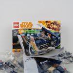 LEGO Star Wars Han Solo Landspeeder Review 75209 In The Box