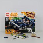 LEGO Star Wars Han Solo Landspeeder Review 75209 Build Part 1