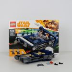 LEGO Star Wars Han Solo Landspeeder Review 75209 Build Part 2 - detailing