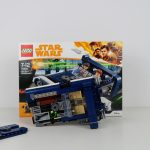 LEGO Star Wars Han Solo Landspeeder Review 75209 Under the Hood