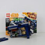 LEGO Star Wars Han Solo Landspeeder Review 75209 Under the Hood