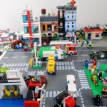 Custom LEGO City Update #2 - Main Street