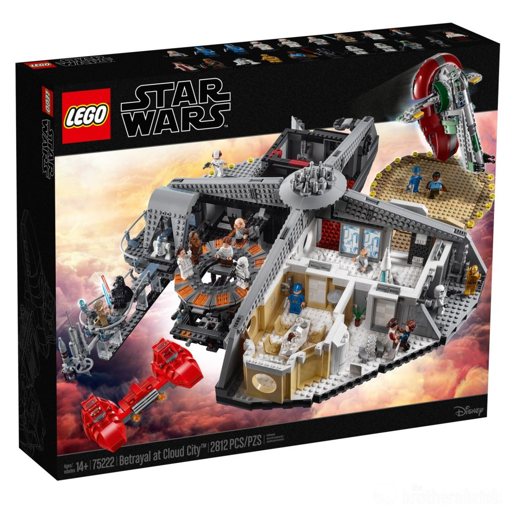 LEGO Star Wars 75222 Betrayal At Cloud City - Box Front High Res