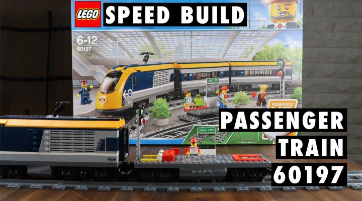 LEGO City Passenger Train 60197 Speed Build