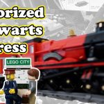 Motorized Hogwarts Express LEGO Train with new Powered Up System