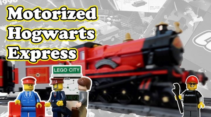 motorized hogwarts express