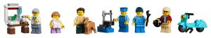 LEGO Creator Expert 10264 Minifigures and Animals