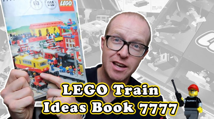 LEGO Train Ideas Book 7777 - Inspiration for your LEGO City Railway!