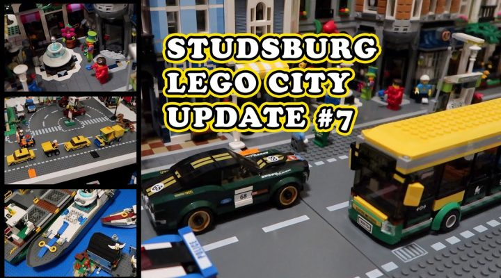 Studsburg Custom LEGO City Update #7 - A Bridge too far?