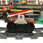 How to build a LEGO Train Handcar inspired by the LEGO Ideas Book 7777