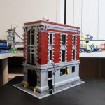 LEGO Ghostbusters Firehouse Headquarters Exterior Build (75827)